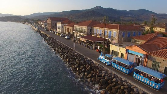 Molyvos, Greece: Village Train in Petra