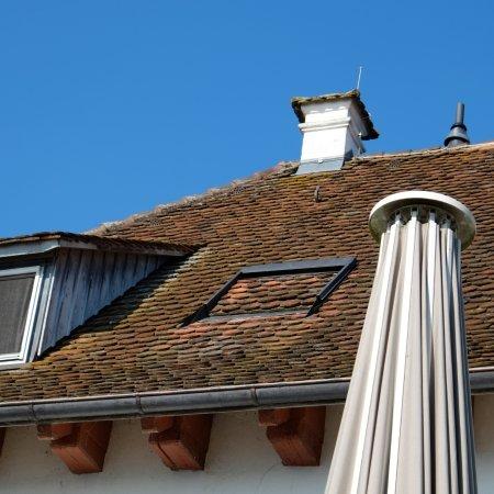 Pilgerhof-Rebmannshof: Rebmanns Dach ;-)