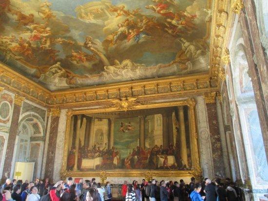 Foto de palacio de versalles versalles palacio de for Chateau de versailles interieur