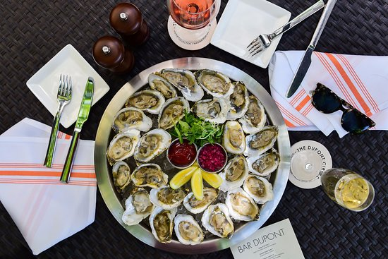 Bar Dupont: Pair your rosé with our Rappahannock oysters