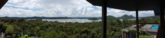 Giritale Hotel: Vue de la terrasse