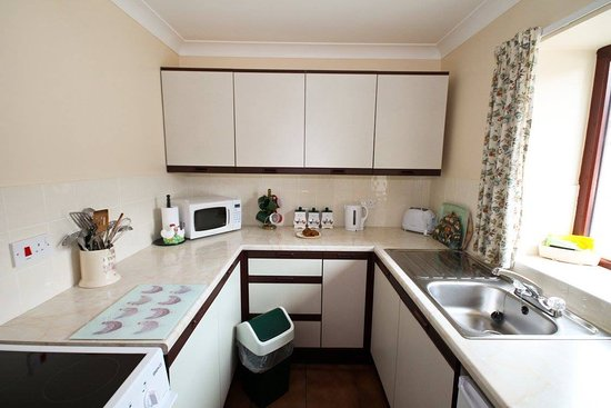 Chancery, UK: Kitchen. Facilities in the Granary Suite
