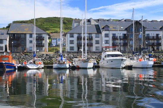Chancery, UK: Aberystwyth Marina.