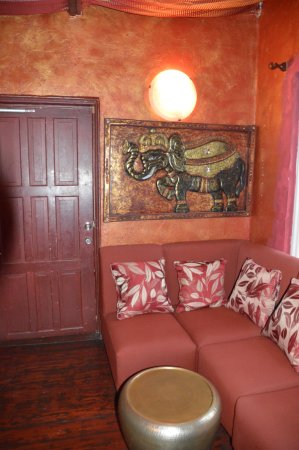 Holetown, Barbados: Sitar's lounge