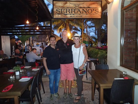 Serrano's Meat House: Phil, Trudy and David