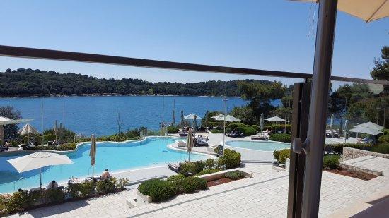 Hotel Monte Mulini: la vista dalla terrazza del ristorante