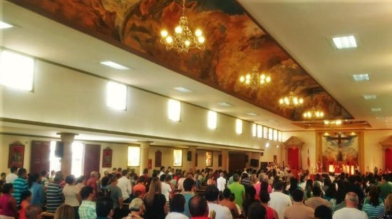 34meter Ceiling, San Agustin Church, Cinco Esquinas de Tibas, Costa Rica