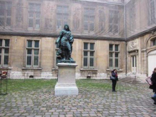 Musee Carnavalet: 中庭の様子