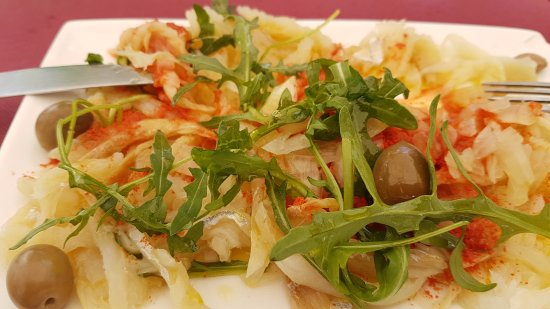 Aveiro District, Portugal: Salada de bacalhau
