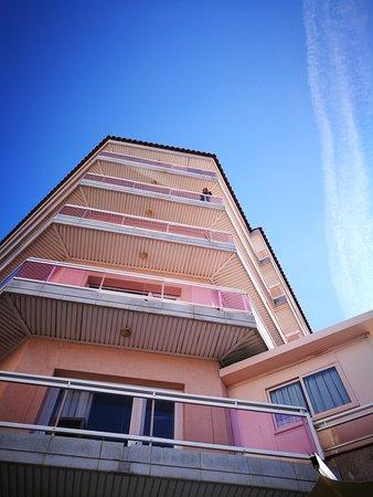 Séjour a l hotel Rosamar, avec un beau soleil....