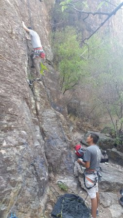 Оаксака, Мексика: Rock climbing with Rancho Buenavista