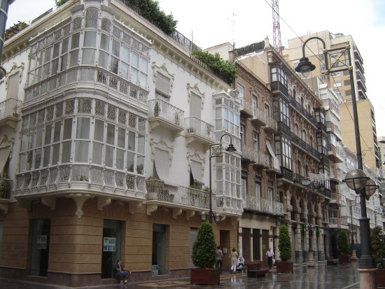 Province of Cordoba, Spania: lovely architecture in Calle Mayor, Cartagena © Robert Bovington