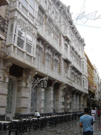 Provincia de Córdoba, España: lovely architecture in Calle Mayor, Cartagena © Robert Bovington
