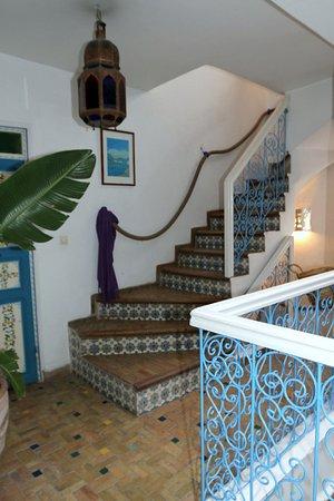 Riad Hotel Emeraude: accès aux chambres