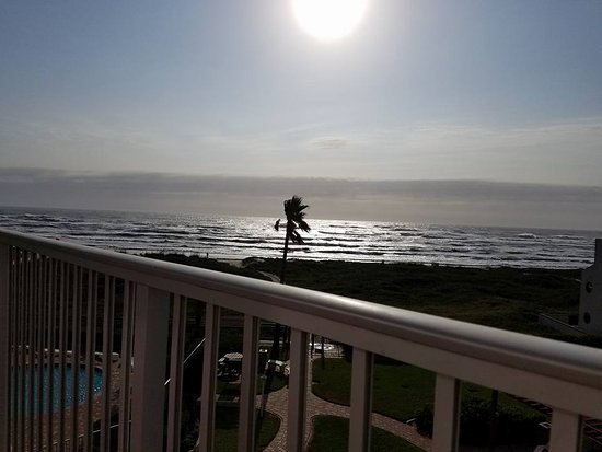 Aquarius Condominiums: Sunrise in SPI from our balcony!