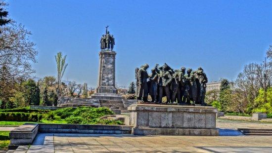 monument voor russische soldaten