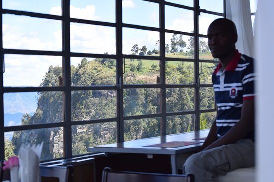 Eldoret, Kenija: At the bar side