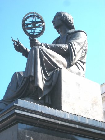 Copernican solar system - Picture of Monument of Nicolaus Copernicus