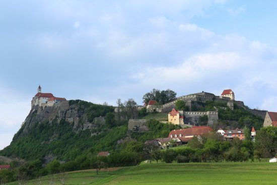 Riegersburg: The castle from far ...
