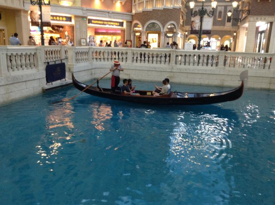 The Venetian Macao Resort Hotel Gondola Ride Fees Lied We Had A