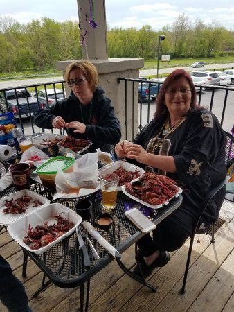 Waynesville, OH: Once a yr Abita Springs from New Orleans &Archers crawfish boiler Dan Apolito ,will be back
