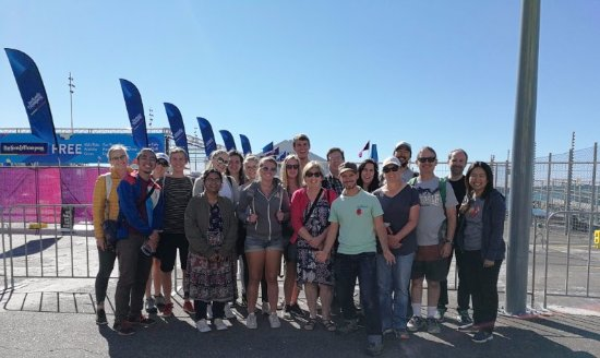Auckland Free Walking Tours: Group photo at the end of the tour =)