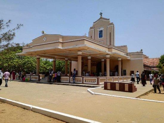Puttalam, Sri Lanka: Church