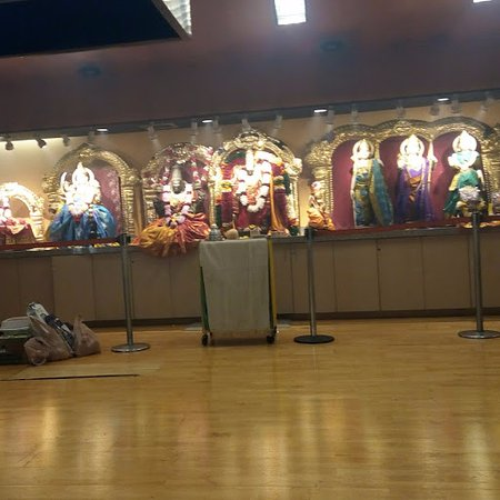 Inside the temple - Picture of Hindu Temple & Cultural
