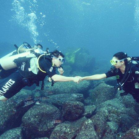 Atlantis Divers: o encontro