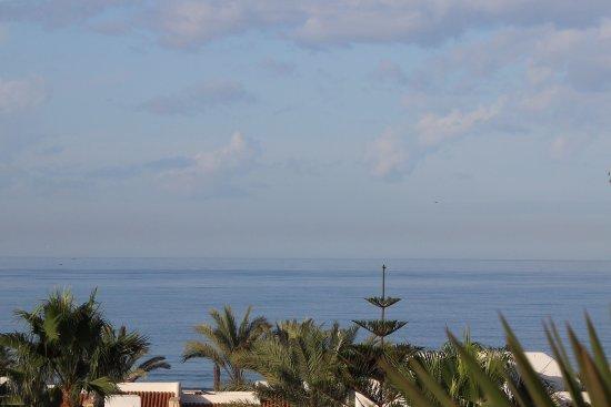 Golden Beach Appart-Hotel : Sur la terrasse