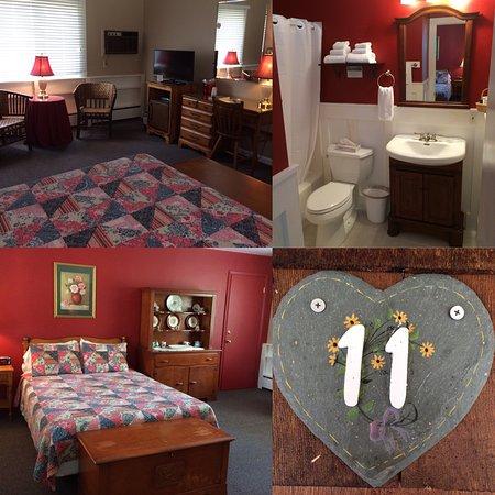Aerie Inn of Vermont : Standard Single Queen.