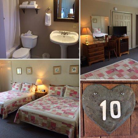 Aerie Inn of Vermont : Standard Double Queen.