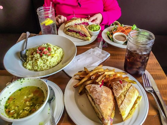 Washington, NJ: our lunch selections