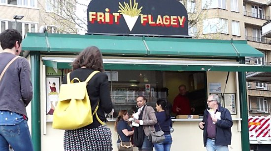 Photo of Food Frit' Flagey at Place Flageyplein, Ixelles / Elsene 1050, Belgium