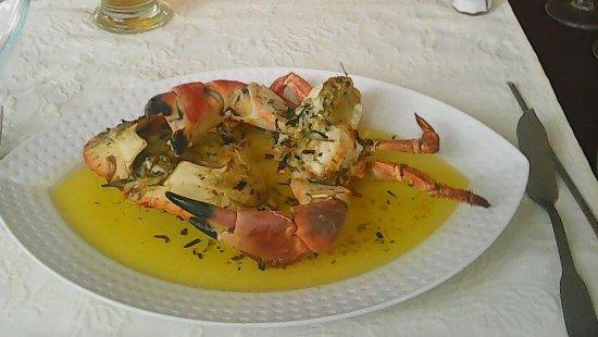 Sangatte, Francia: De fameuze gegrilde krab