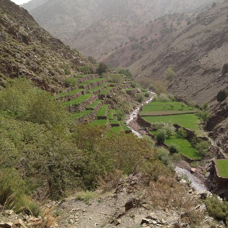 The Agricultural Terraces Of The High Atlas Mountain Berbers
