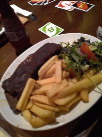 The Bullers Arms: Beautiful beef rib