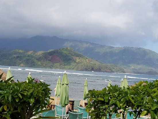St. Regis Princeville Resort: View from Pool