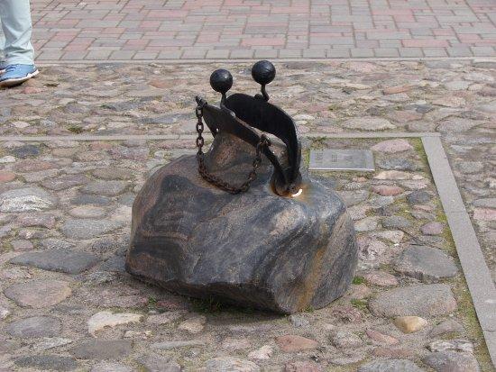 Jekabpils, Lettland: Кошелек