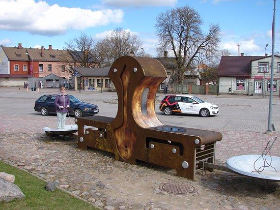 Jekabpils, Latvia: Весы