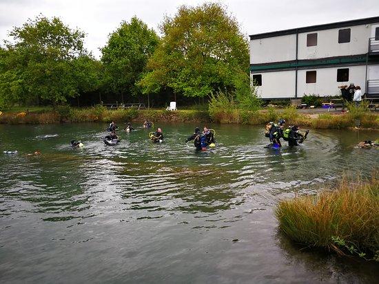 Maine et Loire, Γαλλία: fin de plongée