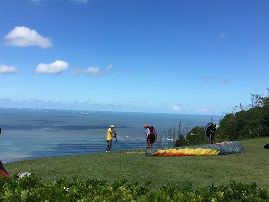 Teleferico Sao Vicente: Saltos de paraquedas