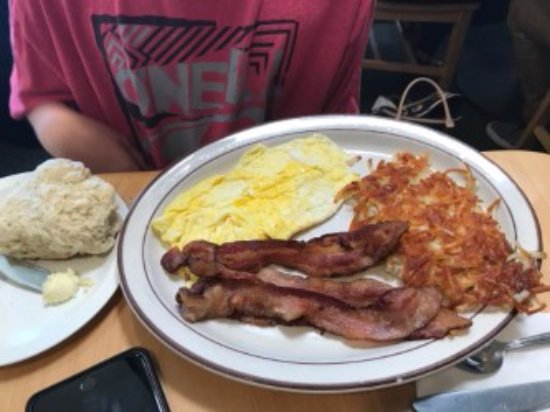 Joe's Place: Bacon and Eggs!