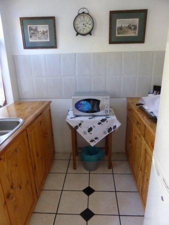 Prince Albert, South Africa: kleine Küche
