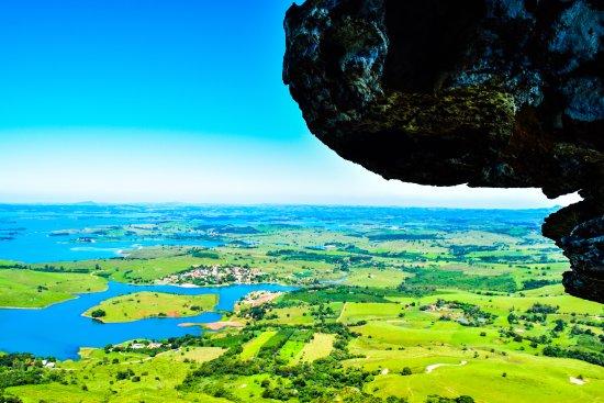 Ribeirão Claro, PR: Vista do Morro do Gavião