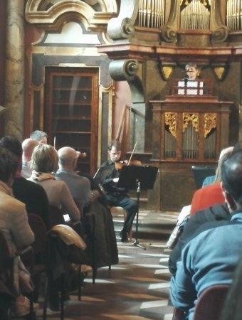 Klementinum Praha: Belle découverte accompagnépar Vivaldi