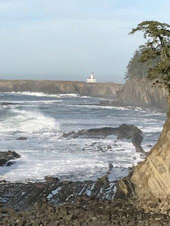 Cape Arago State Park : Arago lighthouse
