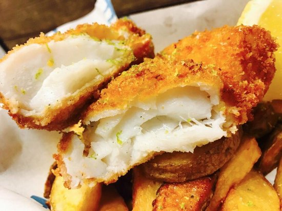 Jack White's Creative Fish & Chips: Our Classic Fish & Chips up close!