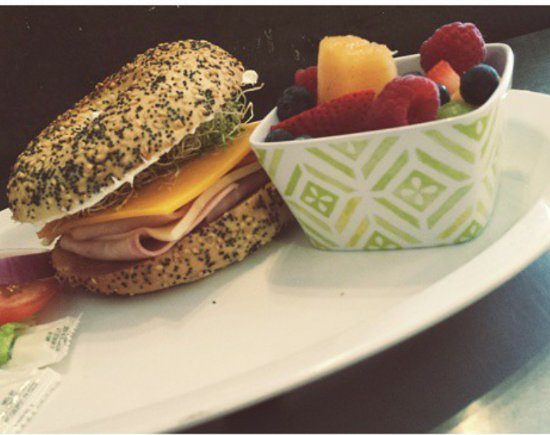 Bedoian's Bakery & Bistro: The Bistro Bagel Sandwich