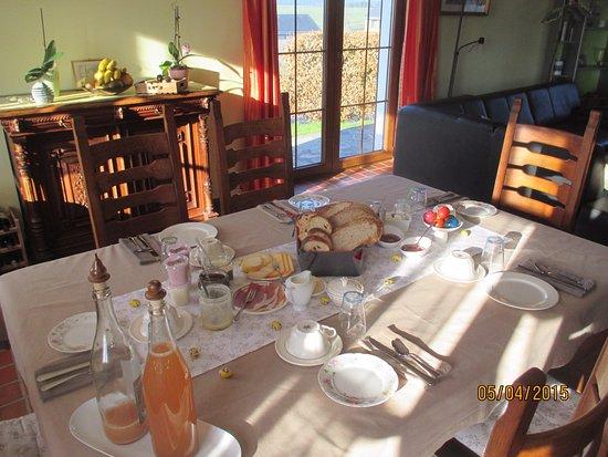 Fauvillers, Belgium: Petit déjeuner du terroir
